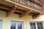 Balkon aus Altholz-Hopfgarten