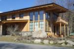Wohnhaus/Holzriegel in Walchen
